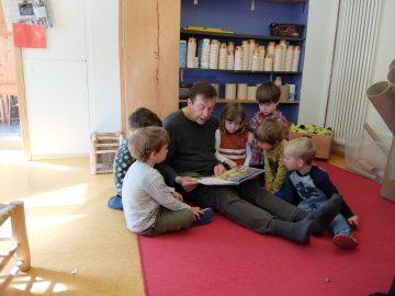 MdL Thomas Marwein Grüne Offenburg Kita Schneckenhaus Tag der Kinderbetreuung